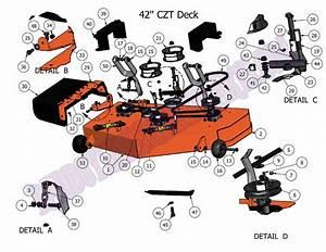 2011 Czt 42 U0026quot  Deck Assembly