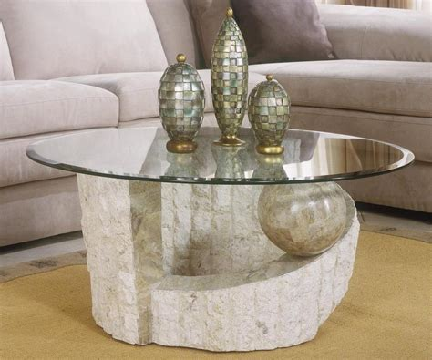 stone top coffee table stone coffee table with glass top