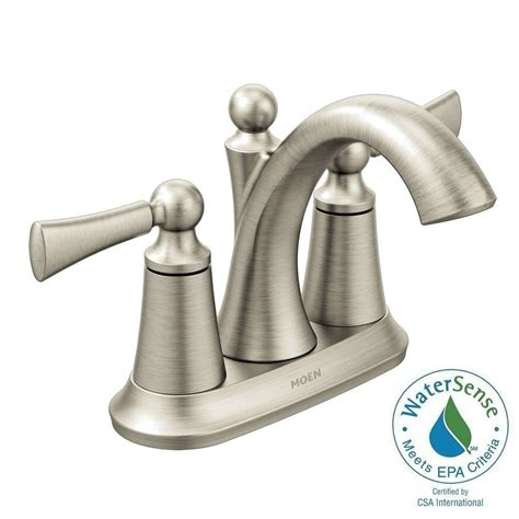 Glacier Bay Faucet Leaking From Handle by Glacier Bay Mandouri 4 In Centerset 2 Handle Led High Arc