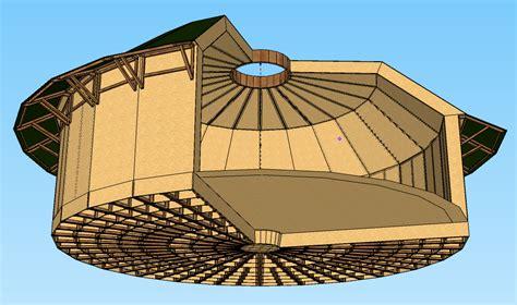 maison ronde en bois en kit myqto