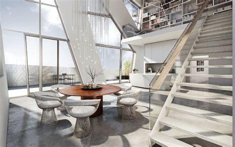 Inneneinrichtung Berlin by Inneneinrichtung Einer Penthouse Wohnung In Dem
