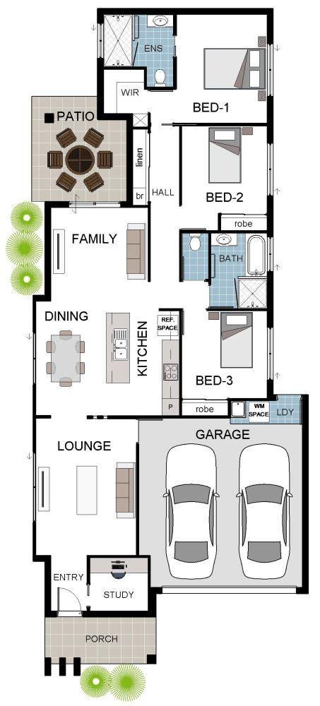 3 Bedroom House Queensland by Porterbello House Design 3 Bedroom Study Theatre