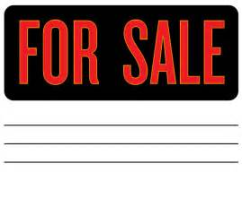 Car Sale Sign Template Free