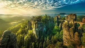 Artwork, Nature, Sculptor, Saxon, Switzerland, Sechsische, Schweiz, National, Park, Hd, Desktop