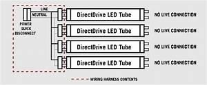 Troffer Retro Fit Wiring Harness