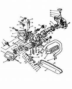 Craftsman Model 358351140 Chainsaw  Gas Genuine Parts