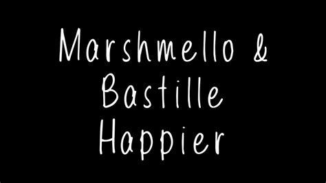Marshmello Teases 'happier' Featuring Bastille