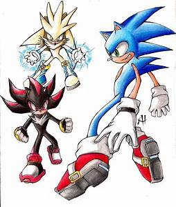 Sonic, Shadow and Silver trad by TioVenom on DeviantArt