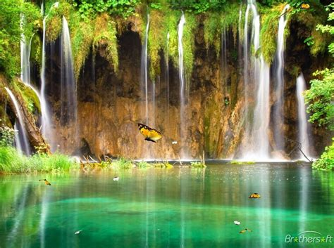 Animated Waterfalls Wallpapers Free - free charm waterfall animated wallpaper charm
