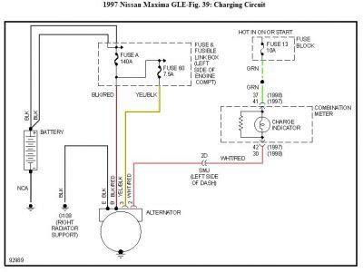 1998 Infiniti I30 Wiring Diagram by Alternator Harness Wire Help Maxima Forums
