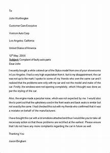 How To Write A Formal Letter To A Judge Complaint Letter 16 Download Free Documents In Word Pdf