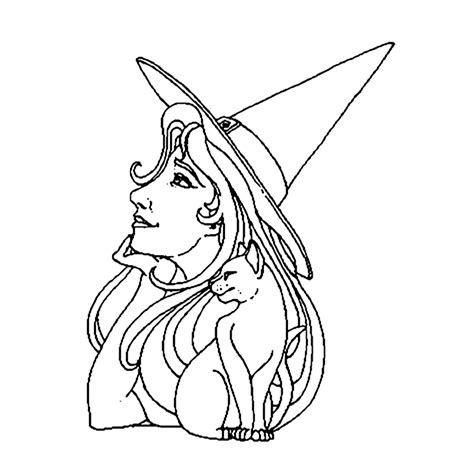 Kleurplaten Heksen by Leuk Voor Heksen 0020