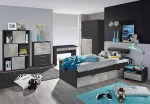 jugendzimmer bett jugendzimmer kinderzimmer schrank bett nachtschrank grau rauch beton 31060 ebay