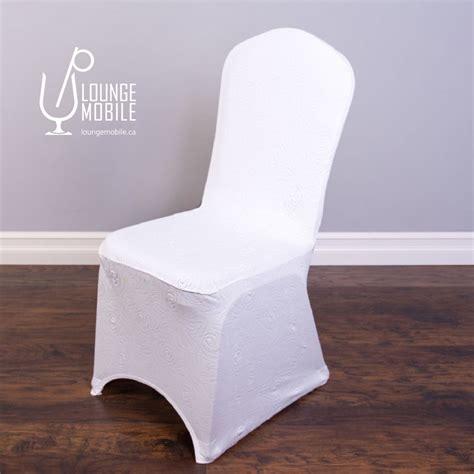 housse chaise lycra housse de chaise lycra à rosettes blanche housses de