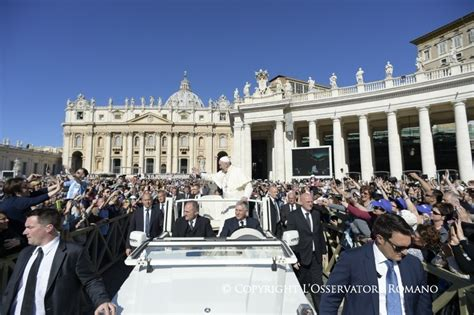 General Audience - Activities of the Holy Father Pope ...