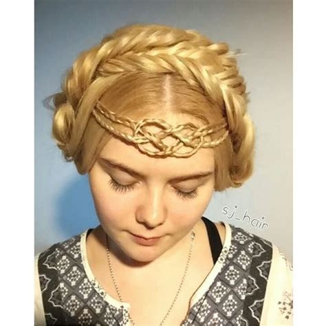 beautiful celtic braids  haircut web