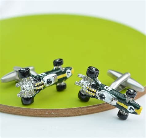 Lotus Type 49 Racing Car Cufflinks By Me And My Car