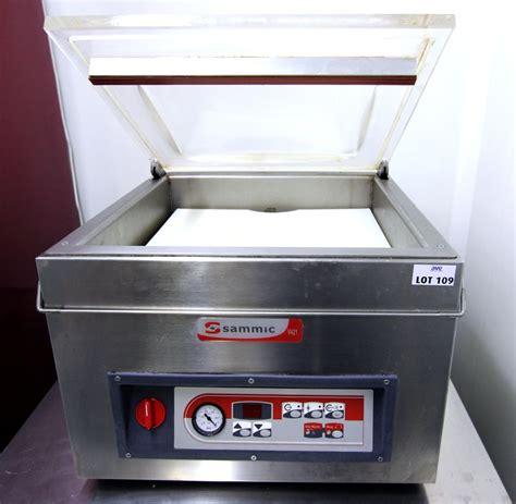 machine de cuisine machine sous vide de marque sammic modele v451 38 x 50 x 46 cm cuisine sous sol