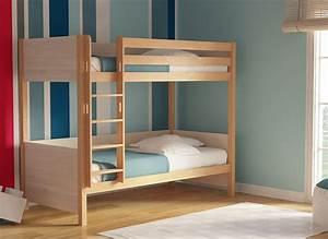 Lit Enfant Superposé : lit superpos enfant dream naturel mobilier bois massif kidsgreen ~ Melissatoandfro.com Idées de Décoration