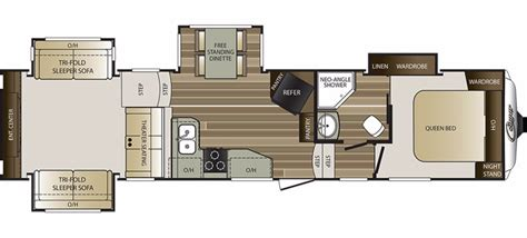 2006 Montana 5th Wheel Floor Plans by 2017 Keystone 326rds Cing World Of Chicago