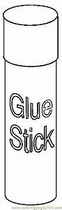 Glue Stick 2 coloring page - Free Printable Coloring Pages