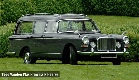 vanden plas princess  hearse  hire