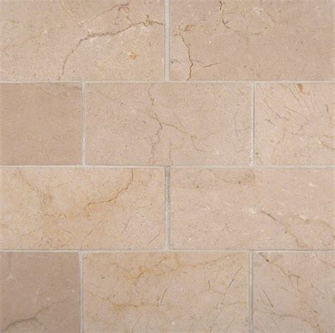 honed tile crema marfil 3x6 honed and beveled tile colonial marble