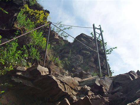 Calmont Klettersteig Karte