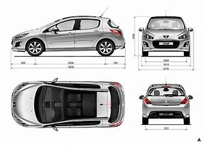 Dimensions 308 Peugeot : la nouvelle gamme peugeot 308 2011 efficace et l gante automania ~ Medecine-chirurgie-esthetiques.com Avis de Voitures