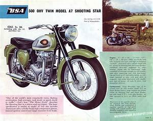 Racing Caf U00e8  Vintage Brochures  Bsa Range 1961  Uk