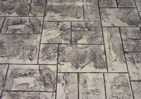 butterfield color slate patterns cascade concrete accessories