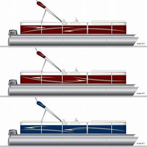 pontoon graphics decal kit pontoonstuffcom pontoon With pontoon boat lettering