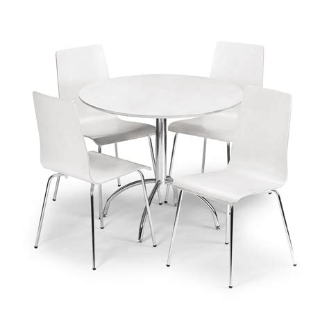 table and four chairs beautiful white round kitchen table and chairs homesfeed