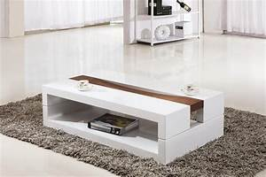 Coffee table surprising coffee table white white coffee for White coffee table with brown top