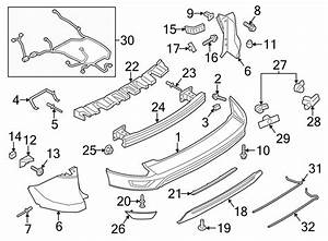 Ford Escape Parking Aid System Wiring Harness  W  O Trailer