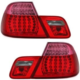 bmw e46 led rückleuchten led r 252 ckleuchten f 252 r 3er bmw e46 in rot ad tuning