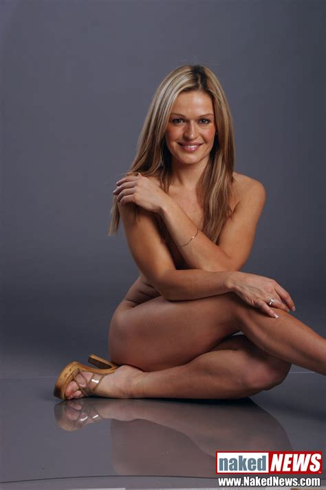 Naked Roxanne West In Naked News