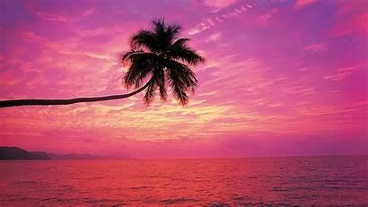 Sunset Beach Desktop Wallpapers Rainbow
