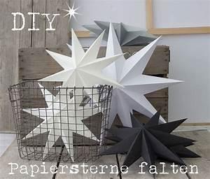 Papiersterne Basteln Anleitung : die besten 25 papiersterne falten ideen auf pinterest ~ Watch28wear.com Haus und Dekorationen