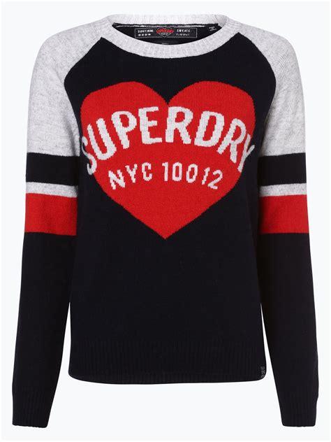 superdry damen pullover kaufen peek und cloppenburg de