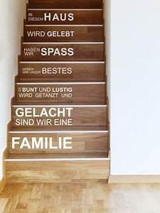 Wandgestaltung Treppenhaus Einfamilienhaus : die besten 25 ideen zu treppenstufen auf pinterest treppe redo treppe und hartholz treppe ~ Markanthonyermac.com Haus und Dekorationen