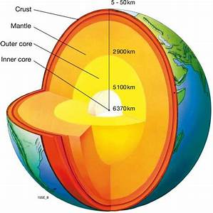 Maps - Cross Section Of The Earth U0026 39 S Crust