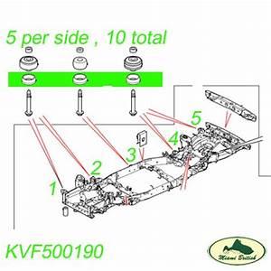 Land Rover Chassis Frame Mounting Bush Bushing Lr3 Lr4