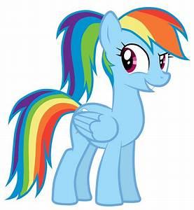 Image - Rainbow Dash's new hairstyle.jpg | My Little Pony ...