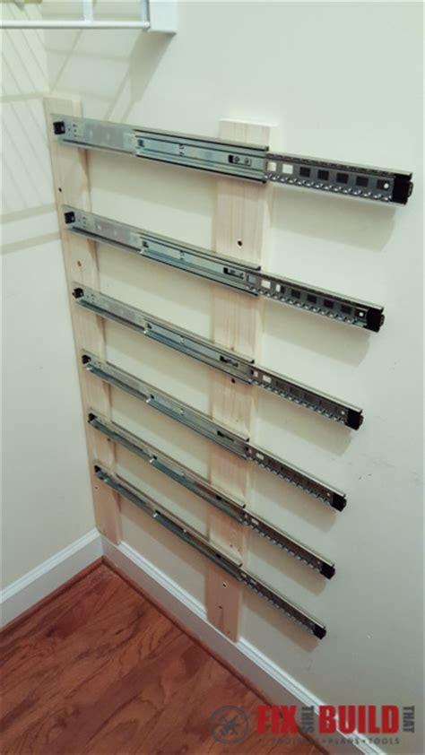 diy sliding wood crate storage fixthisbuildthat