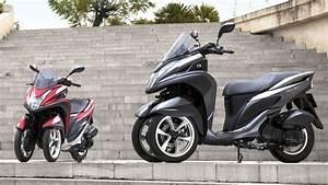 Scooter 3 Roues 125 : yamaha et mbk un scooter trois roues moins de 4 000 euros ~ Medecine-chirurgie-esthetiques.com Avis de Voitures