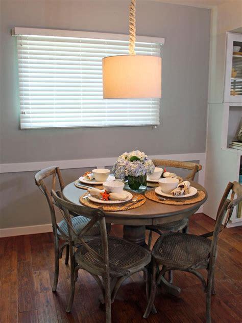small coastal dining room table hgtv