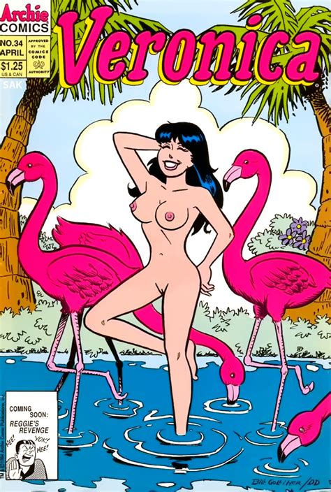 Rule 34 Archie Comics Black Hair Breasts Flamingo Nude