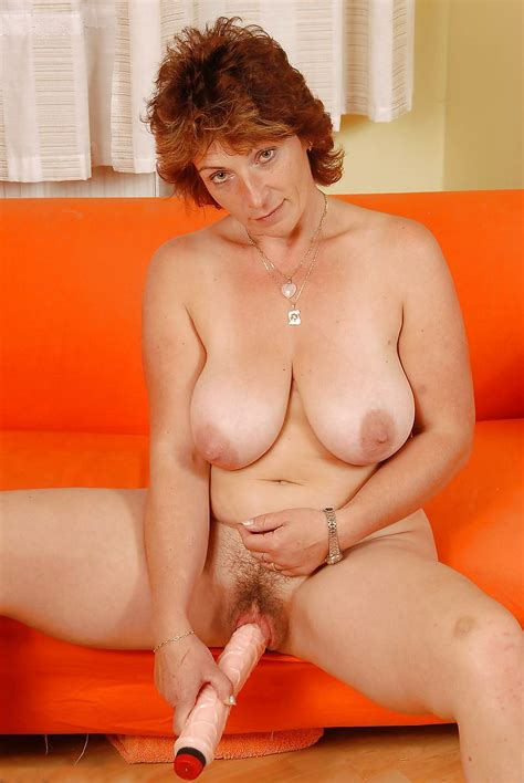 Busty Hairy Mature Toys Her Awesome Cunt 30 Pics