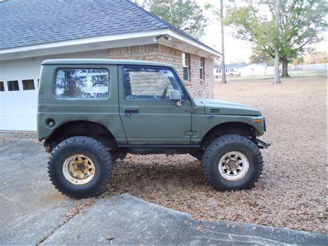 jeep suzuki samurai for sale fikes rides 39 s 1987 suzuki samurai in theodore al